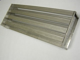 Chicago 430 SS Riveted Trays